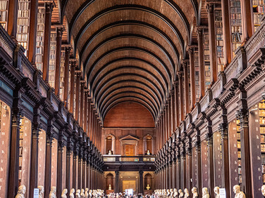 Long Room, Trinity College library, September 2019