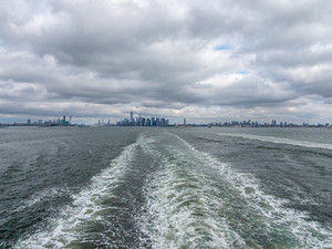New Jersey, Manhattan, Brooklyn from the Staten Island Ferry, October 2018