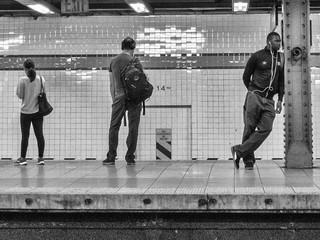 14th Street subway station, September 2019