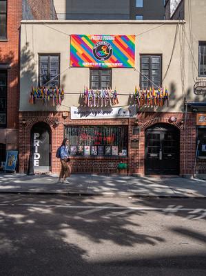 Stonewall Inn, Christopher Street, September 2019