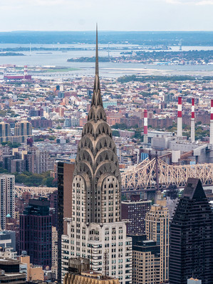 Chrysler Building taken from Empire State Building, October 2018
