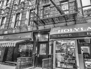 122 St Mark's Place, October 2018