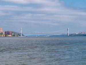 US 1 Upper Level Bridge across the Hudson River, September 2019