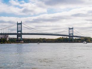 Robert F Kennedy Bridge across the East River, September 2019