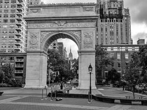 Washington Arch, Washington Square Park, October 2018