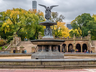 Bethesda Fountain and Terrace, October 2018