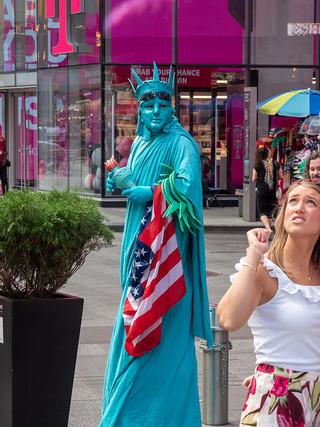 Times Square, September 2019