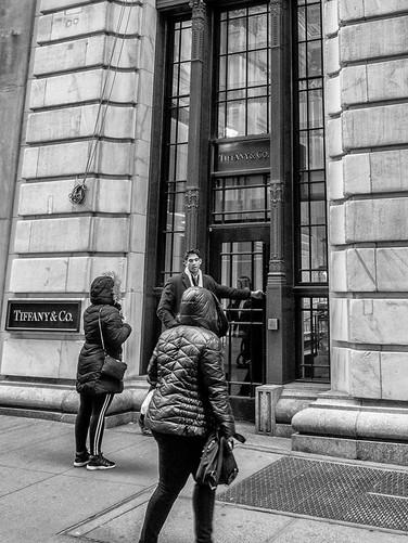Tiffany's, Wall Street, October 2018