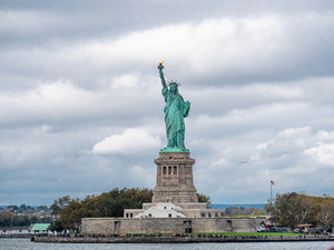 Statue of Liberty from the Staten Island Ferry, October 2018