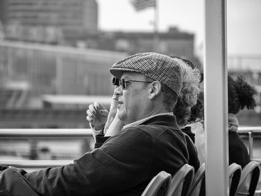 On board a Circle Line ferry 'Brooklyn', September 2019