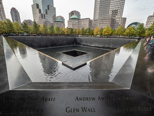 World Trade Centre Memorial, October 2018