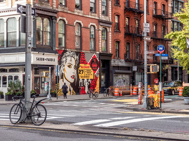 Bowery and Bleecker Street, October 2018