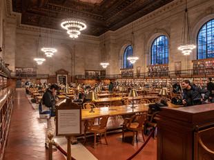 Rose Reading Room, New York Public Library, October 2018