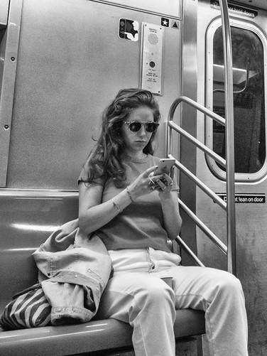 Subway towards Williamsburg, September 2019
