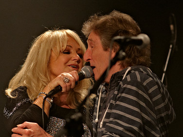 Bonnie Tyler and Terry Williams