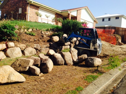 Retaining Wall Preparations