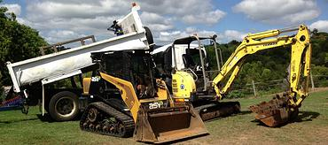 larger earthmoving combos