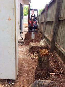 mini digger contractor