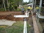 pool, posi, excavation, spa, bobcat, tipper, truck,  excavator, plumbing, landscaping, dirt, concrete, turf, driveway, pad,