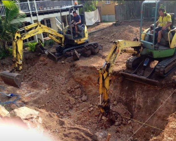 Brisbane Pool Excavation