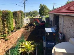 tight access excavation
