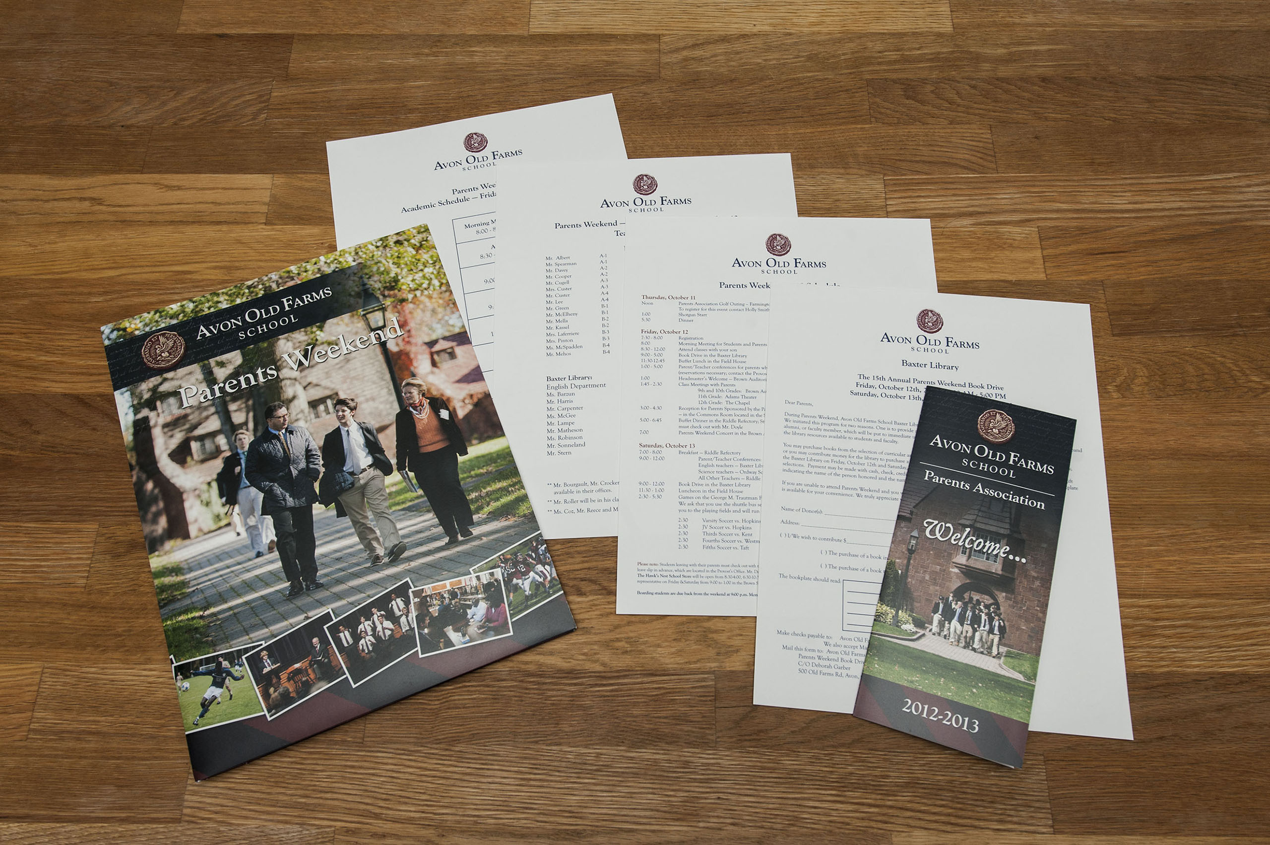 Folder and Brochure Design
