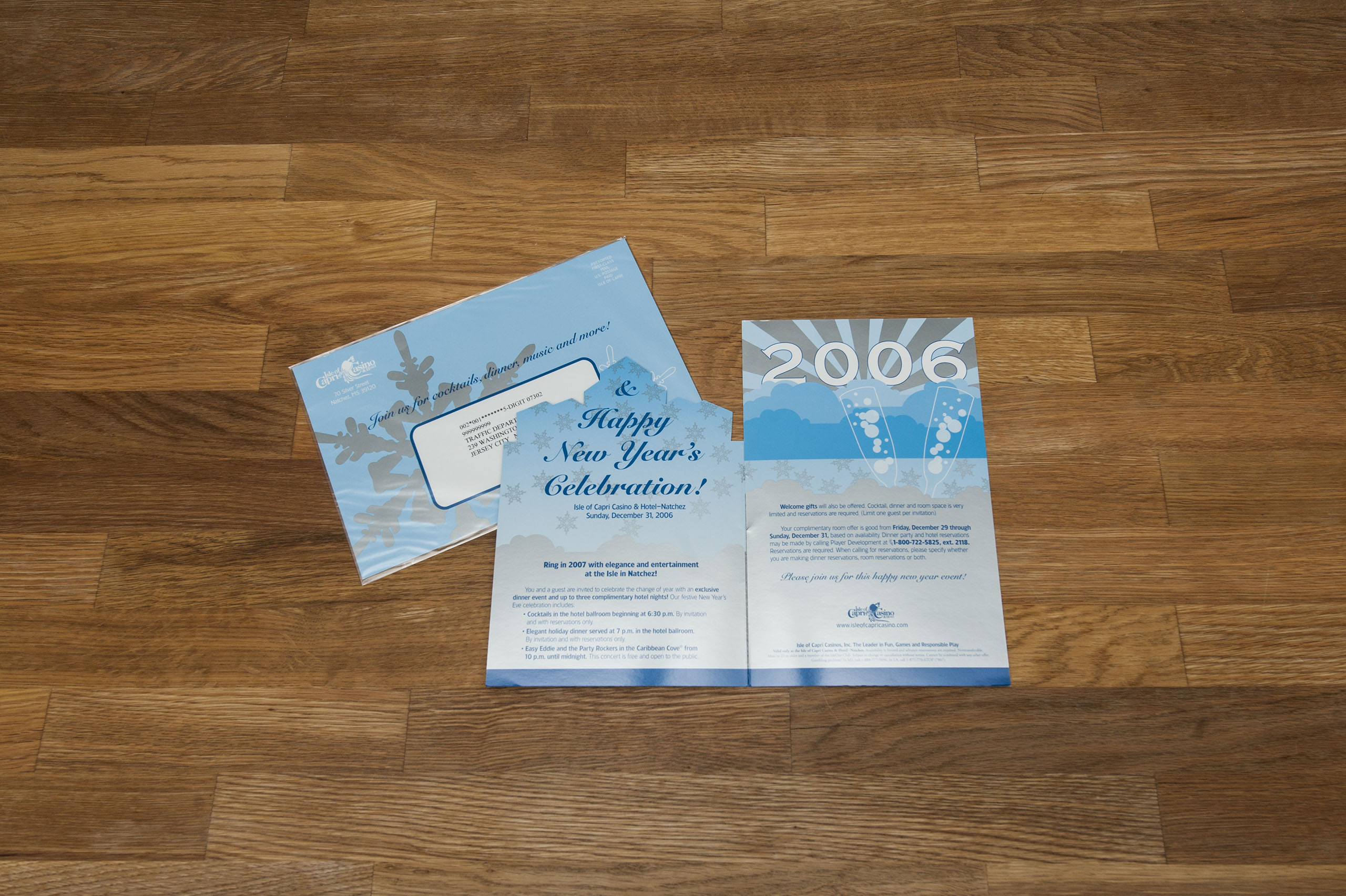 Direct Mail Invitation Design