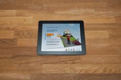 Tablet Application Design