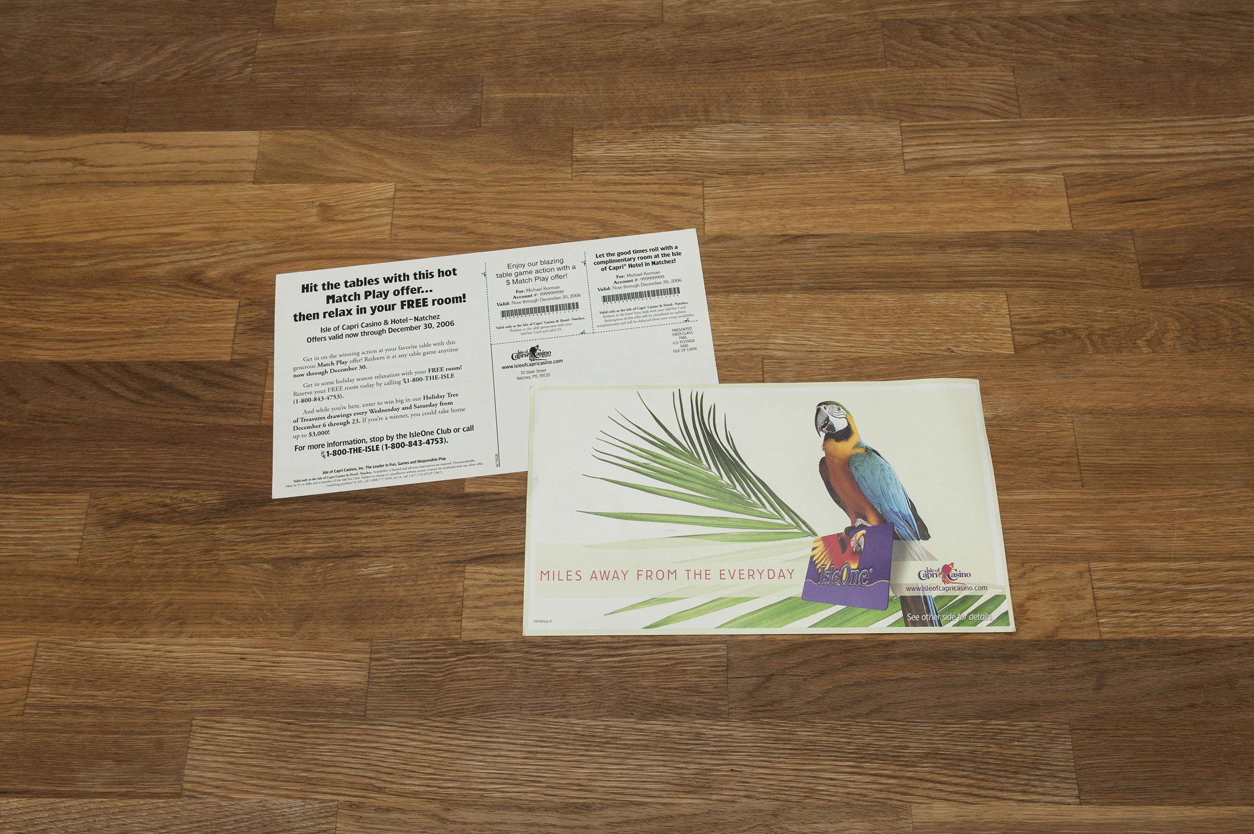Postcard and Direct Mail Design
