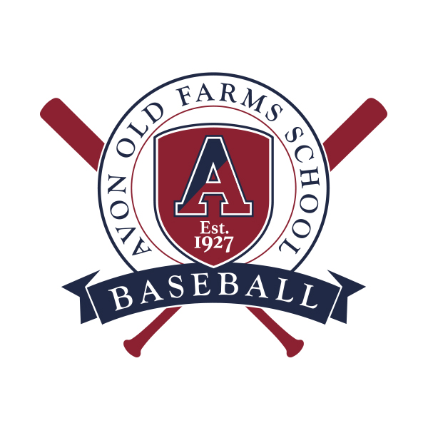 Avon Old Farms Baseball Logo Design