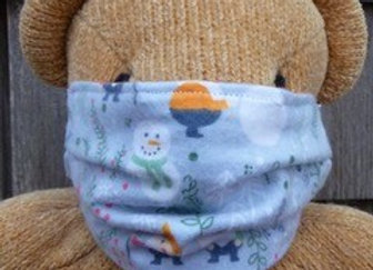 Soft and warm child's face mask