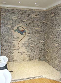 Marble Mosaic Wet Room