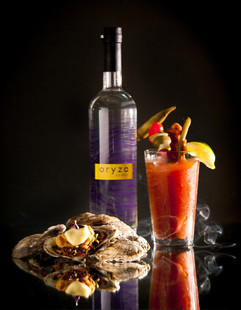 """Messina's Chef's """"Dirty"""" Oyster paired w"""