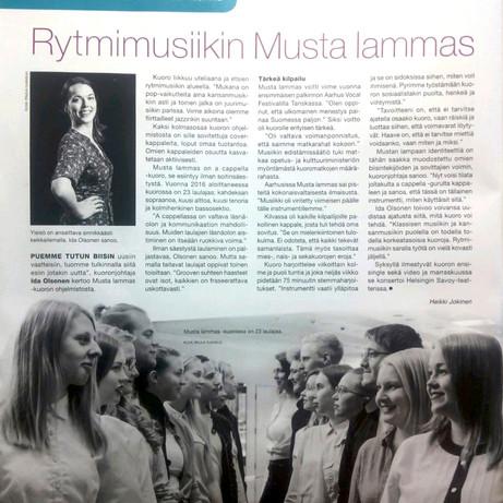 """""""Rytmimusiikin Musta lammas"""", Heikki Jokinen, Gramex 2018/02"""