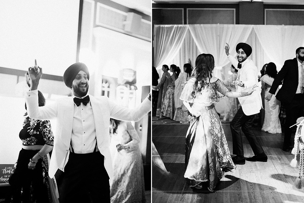 sikh and hindu wedding reception dearborn inn