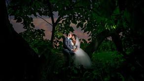 Classic Fall Traverse City Wedding at West Bay Beach Resort