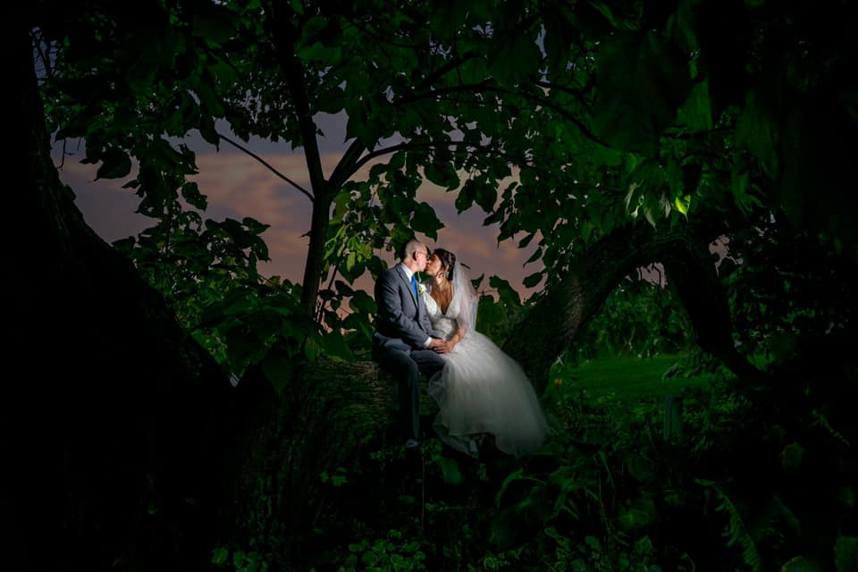 Exposures by Rah Traverse City romantic bride and groom