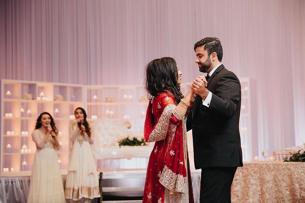 Richa Parekh Photography Wedding reception at the Novi Suburban Collection Showplace Diamond Center