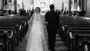 Old St. Mary's Detroit Winter Wedding