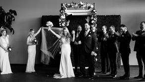 Waterview Loft Modern Chic Wedding