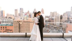 Detroit Athletic Club Winter Wedding