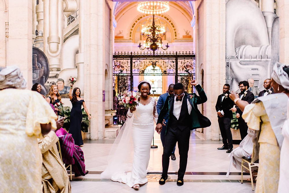 Justine Castle Photography DIA Detroit Institute of Arts Wedding