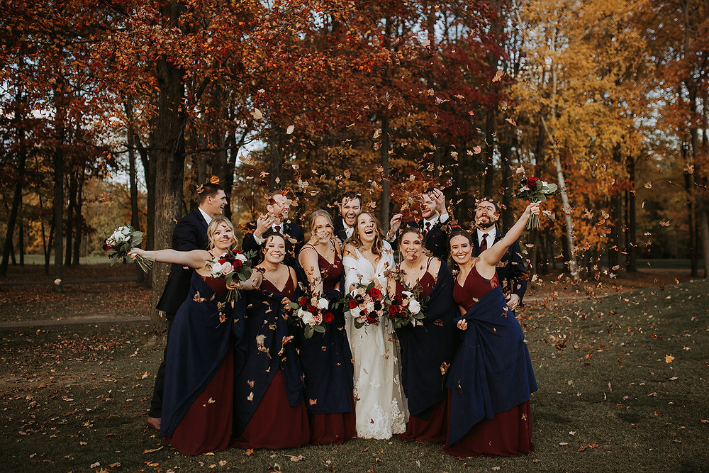 Chelise Renee Photography Bridal Party Photos on the Cherry Creek Golf Course