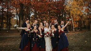 Elegant Fall Wedding at Cherry Creek Golf Club