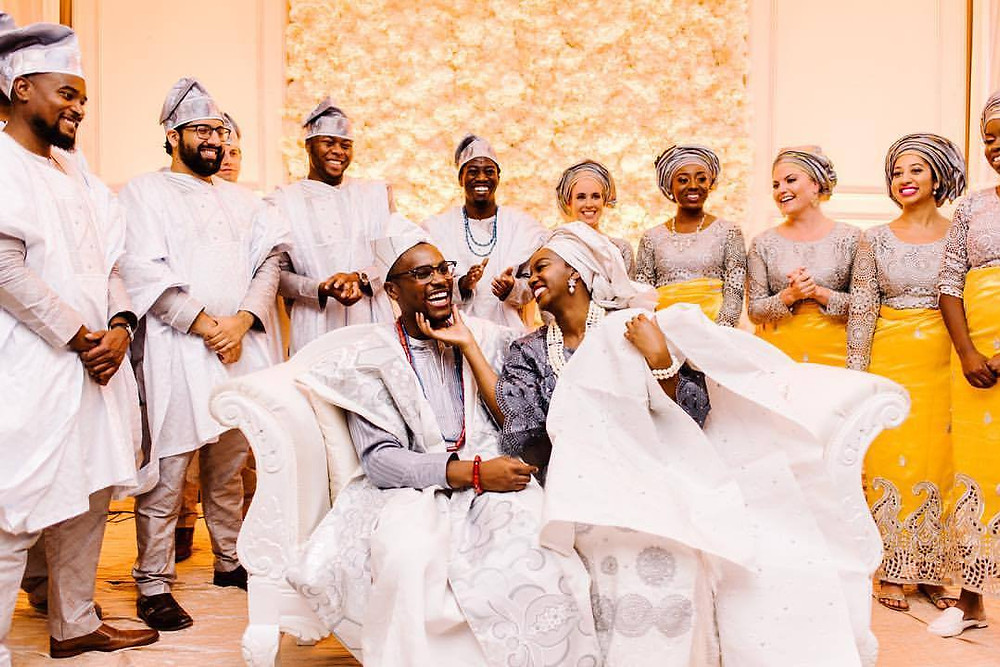 Justine Castle Photography Nigerian Yoruba Ceremony at Sheraton Novi
