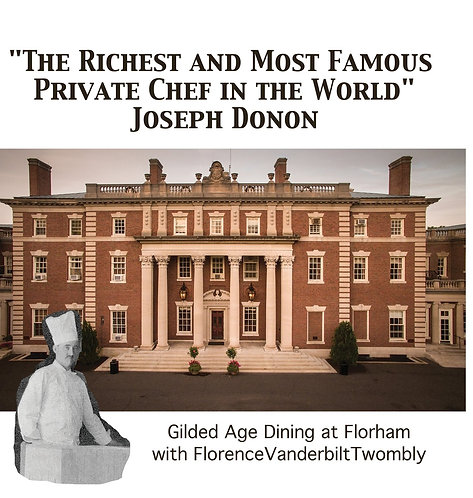 The Richest and Most Famous Private Chef in the World: Joseph Donon