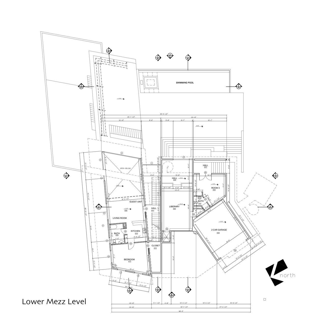 Lower Mezzanine Plan