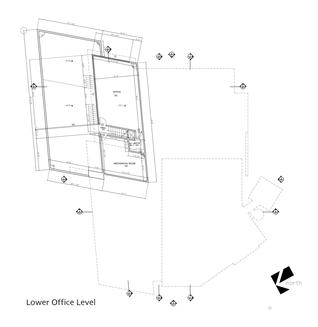 Lower Office Level Plan
