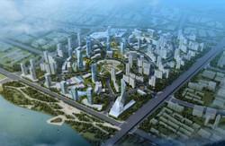 群力新商业区总体规划 中国哈尔滨