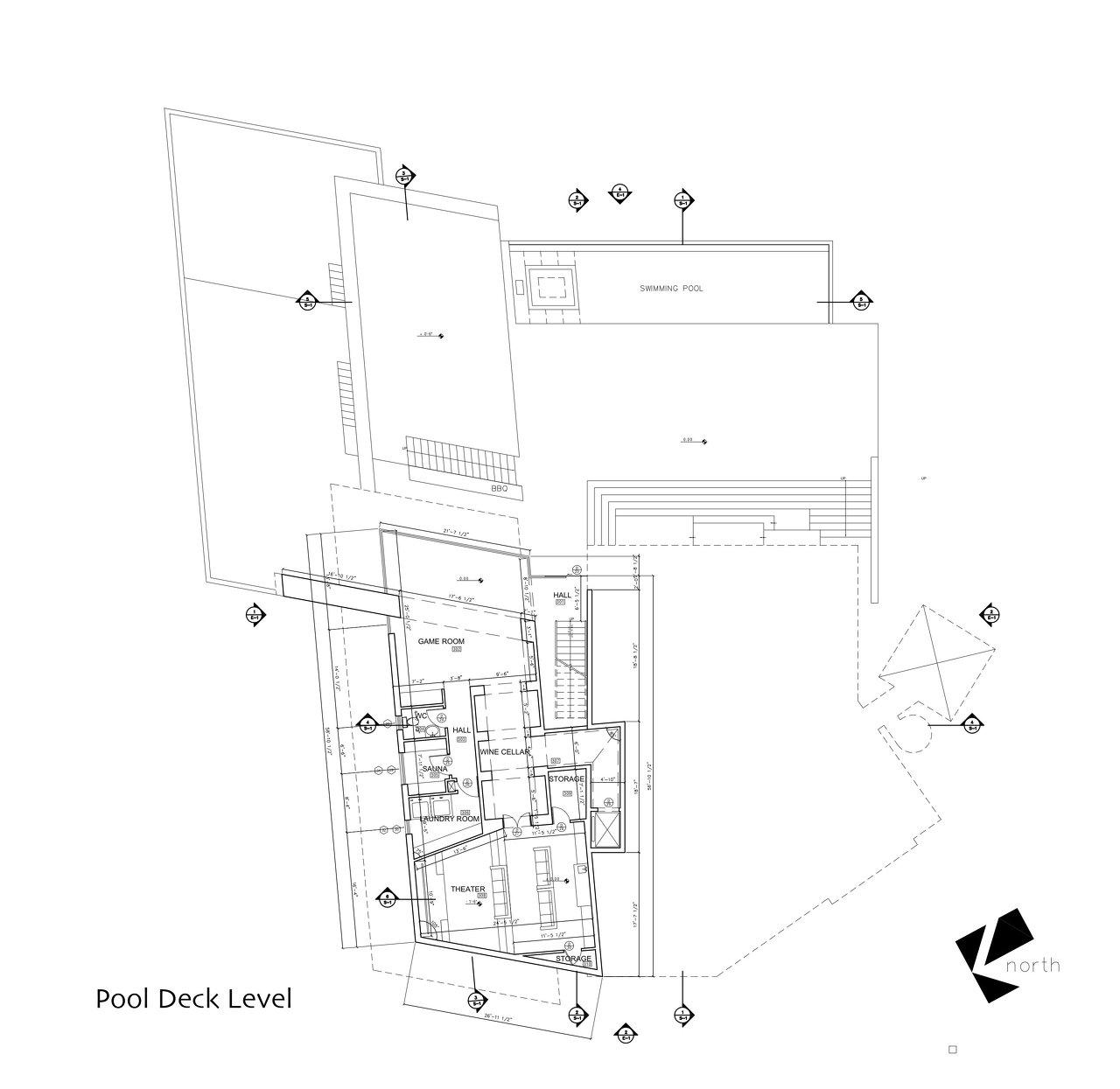 Pool Deck Level